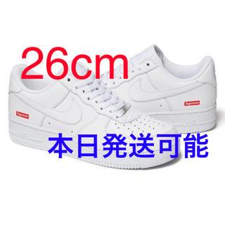 NIKE - Supreme Nike Air Force1 26cm