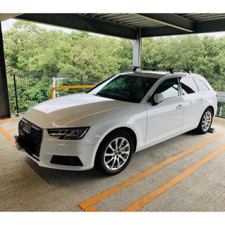 AUDI - 【新古車購入、低走行車】アウディ A4アバント 2.0TFSIクワトロ