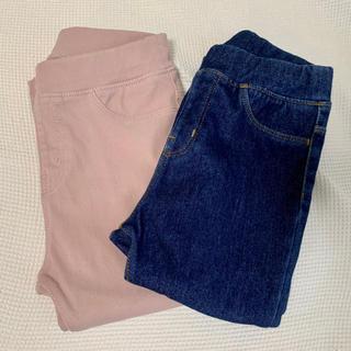 MUJI (無印良品) - 90cm 無印良品 パンツ2枚セット
