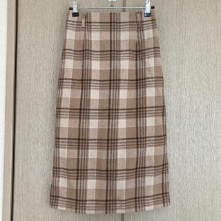 INGNI - INGNI チェック柄ナロースカート