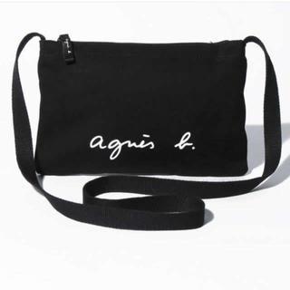 agnes b. - アニエスベー サコッシュ ショルダーバッグ ブラック 新品タグ付き 訳アリ品