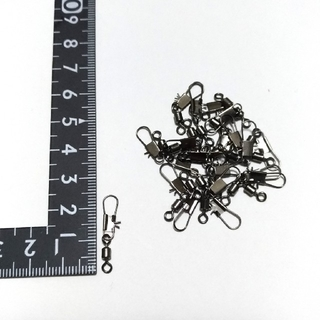 【新品】インター付 ローリング サルカン 6号 12㎏ 20個入り(釣り糸/ライン)