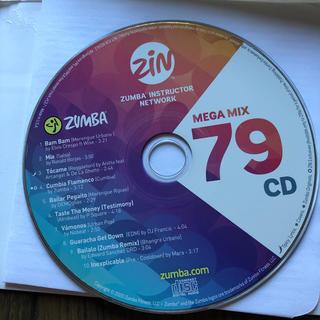 ズンバ(Zumba)のズンバCD(スポーツ/フィットネス)