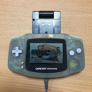 ゲームボーイアドバンス - ゲームボーイアドバンス本体と電池代替コード