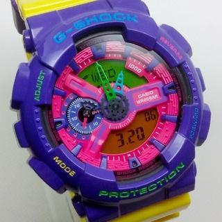 ジーショック(G-SHOCK)のHyper Colorsモデル GA-110HC-6AJF G-SHOCK(腕時計(アナログ))
