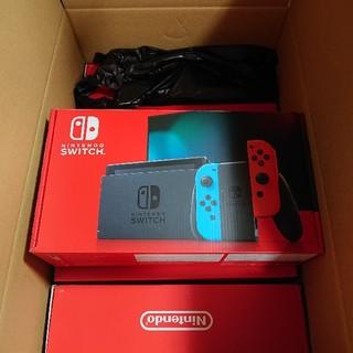 ニンテンドースイッチ(Nintendo Switch)のNintendo switch 本体 ネオン グレー 10台セット(家庭用ゲーム機本体)