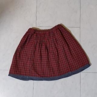 familiar - ファミリア リバーシブルスカート 120