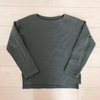 ムジルシリョウヒン(MUJI (無印良品))のコッコ様 スウェットトップス ノーカラーシャツ(トレーナー/スウェット)