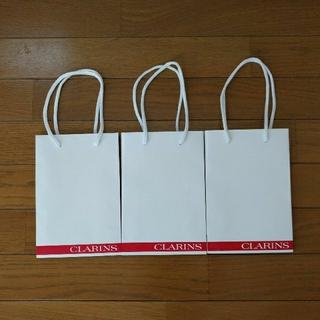 クラランス(CLARINS)のCLARINS ショッパー 3枚セット(ショップ袋)