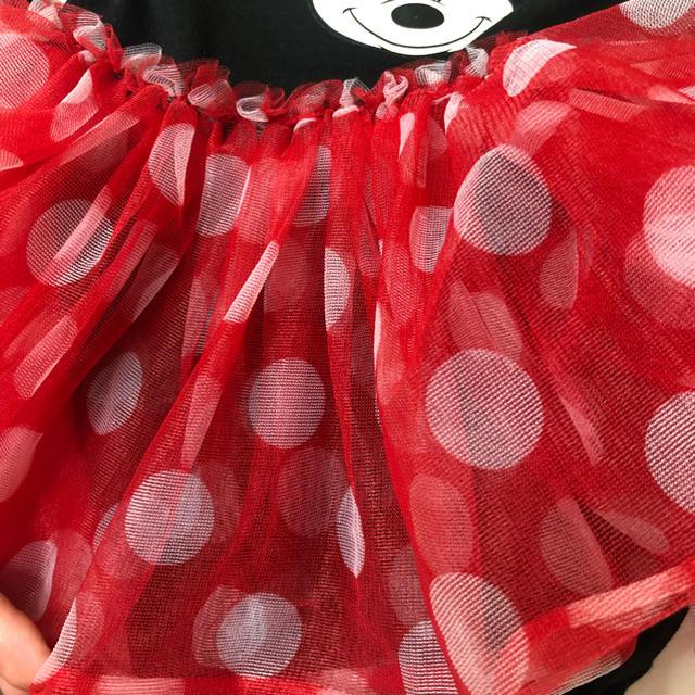 H&M(エイチアンドエム)のハロウィン仮装にも♡ H&M ミニーちゃんロンパース キッズ/ベビー/マタニティのキッズ服女の子用(90cm~)(ワンピース)の商品写真