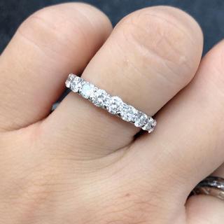新品美品❣️pt900 ダイヤモンド リング 指輪(リング(指輪))