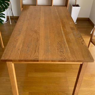 ムジルシリョウヒン(MUJI (無印良品))のダイニングテーブル(ダイニングテーブル)