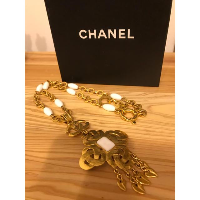 CHANEL(シャネル)の★CHANEL✴︎シャネル★ロングネックレス★レトロ★ レディースのアクセサリー(ネックレス)の商品写真