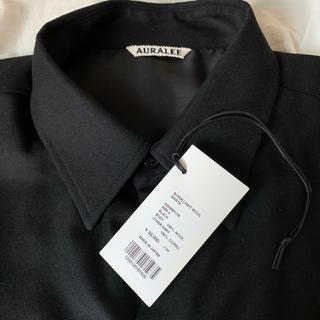 COMOLI - auralee super light wool shirts 20AW