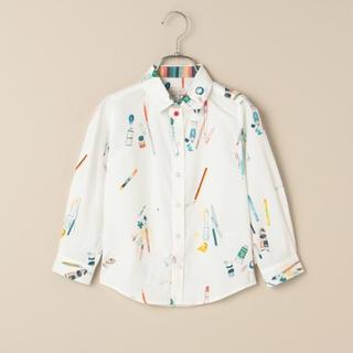 ポールスミス(Paul Smith)のポールスミス新品新作タグ付きアートマテリアル 長袖シャツ120(Tシャツ/カットソー)