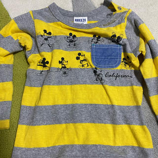 BREEZE - ミッキーマウス Tシャツ size90
