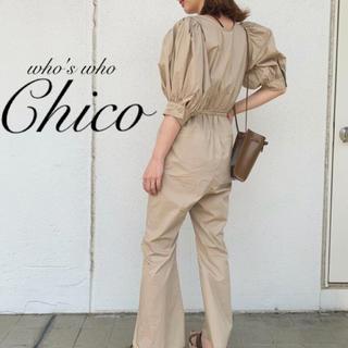 who's who Chico - 新作完売¥7590【Chico】パワショルコンビネゾン