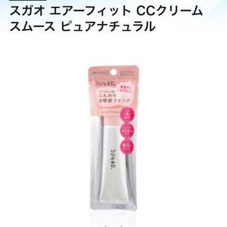 ロートセイヤク(ロート製薬)のスガオ エアーフィットCCクリーム 01(CCクリーム)
