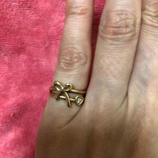 サマンサティアラ(Samantha Tiara)のサマンサティアラ K18 ピンキーリング(リング(指輪))