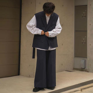 SUNSEA - ryotakashima  セットアップ Ash Naby