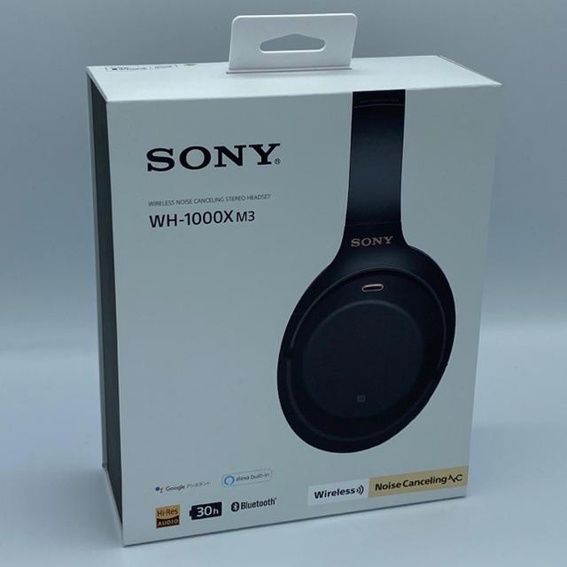 SONY(ソニー)のSONY WH-1000XM3 ワイヤレス ノイズキャンセリングヘッドフォン スマホ/家電/カメラのオーディオ機器(ヘッドフォン/イヤフォン)の商品写真
