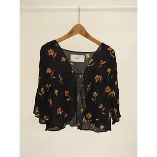TODAYFUL - Georgette Flower Cardigan