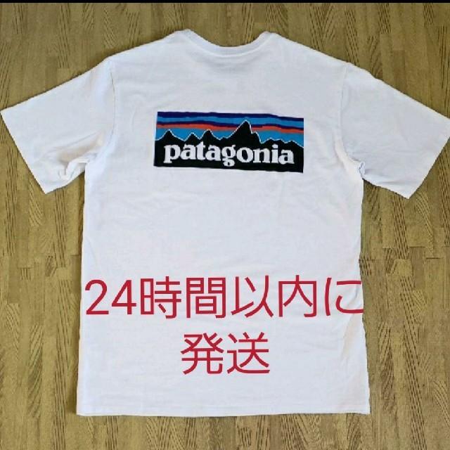 patagonia(パタゴニア)のメンズ・P-6ロゴポケット・レスポンシビリティー メンズのトップス(Tシャツ/カットソー(半袖/袖なし))の商品写真