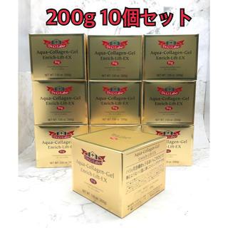 ドクターシーラボ(Dr.Ci Labo)のドクターシーラボ  アクアコラーゲンゲル エンリッチリフトEX 200g×10箱(オールインワン化粧品)