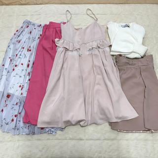 マーキュリーデュオ(MERCURYDUO)のピンク&ホワイトコーデ まとめ売り(セット/コーデ)