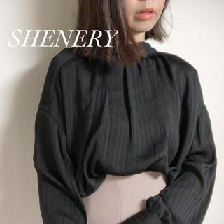 ユナイテッドアローズ(UNITED ARROWS)の今季¥12100【SHENERY】2wayシャツブラウス ボウタイブラウス(シャツ/ブラウス(長袖/七分))