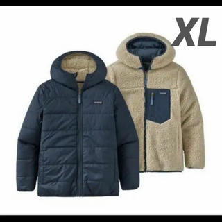 patagonia - パタゴニア レトロX キッズ リバーシブルレディフレディフーディ XL