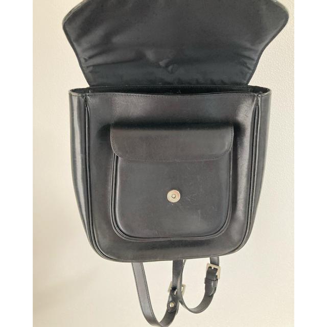 agnes b.(アニエスベー)の【レア】アニエスベー 革 リュック レディースのバッグ(リュック/バックパック)の商品写真