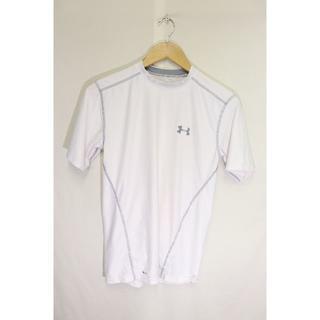 アンダーアーマー(UNDER ARMOUR)のアンダーアーマーFITTED Tシャツ/USAブランドスポーツ機能性SM(Tシャツ(半袖/袖なし))