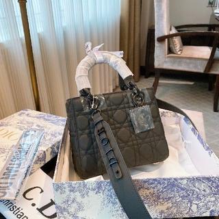 Christian Dior - クリスチャンディオール ハンドバッグ マット ブラック ショルダーバッグ