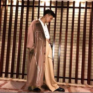 ヨウジヤマモト(Yohji Yamamoto)のYohji Yamamoto 17aw 抜染 ジャケット (ステンカラーコート)
