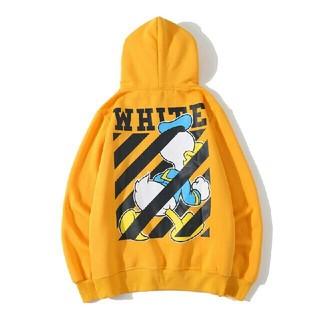 オフホワイト(OFF-WHITE)のS127 【大人気】OFF-WHITE パーカー 男女兼用(パーカー)