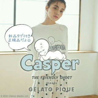 gelato pique - 新品タグ付き ジェラートピケ×CASPER★Tシャツ&ショートパンツSET