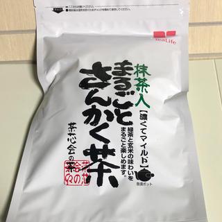 ティーライフ(Tea Life)のお得★ティーライフ まるごとさんかく茶 ティーバック ポット用 40個★(茶)