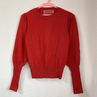 ハニーミーハニー(Honey mi Honey)のvolume sleeve pullover(ニット/セーター)