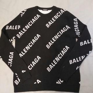 Balenciaga - 即日発送 BALENCIAGA ロゴセーター ブラック