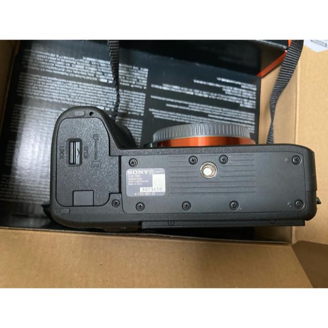 SONY(ソニー)のA 7 ⅲ 保証付 美品 ランクA  スマホ/家電/カメラのカメラ(ミラーレス一眼)の商品写真