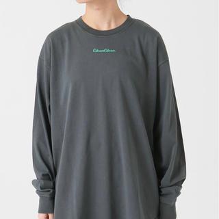 イエナスローブ(IENA SLOBE)の【SALE】イエナ☆ピグメントロゴTEE(Tシャツ(長袖/七分))