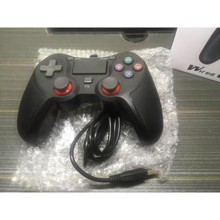PS4 コントローラー 有線接続 ゲームパッド