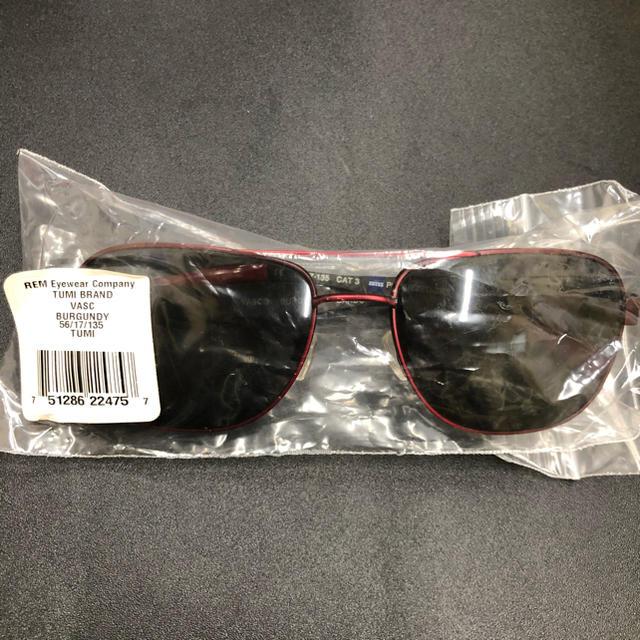 TUMI(トゥミ)の新品 未使用 TUMI サングラス メガネ 眼鏡 メンズのファッション小物(サングラス/メガネ)の商品写真