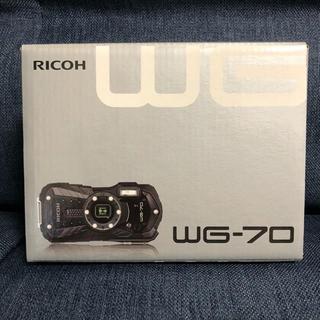 リコー(RICOH)のリコーRICOH WG-70 [ブラック](コンパクトデジタルカメラ)