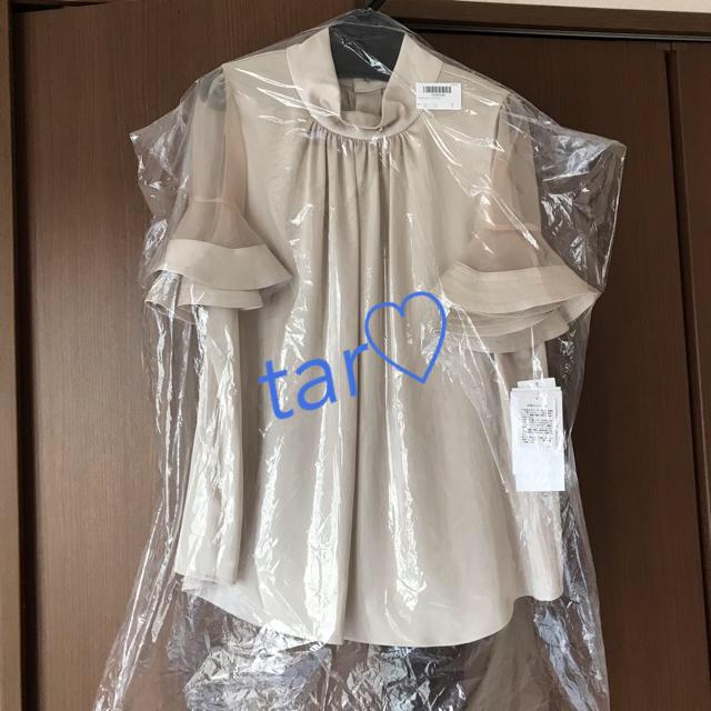 FRAY I.D(フレイアイディー)の専用 FRAY I.D/フレイ アイディー ラッフルスリーブブラウス レディースのトップス(シャツ/ブラウス(半袖/袖なし))の商品写真