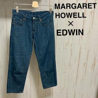 マーガレットハウエル(MARGARET HOWELL)のマーガレットハウエル エドウィン デニムパンツ ジーンズ 濃紺(デニム/ジーンズ)