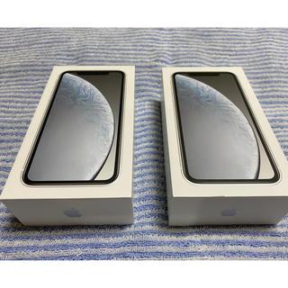 iPhone - iPhone XR 64GB docomo SIMフリー 2台