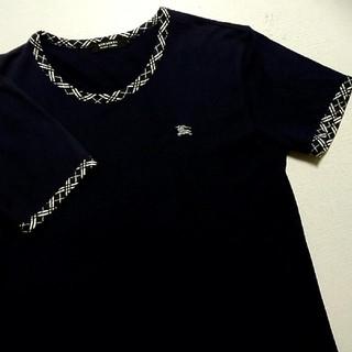 バーバリーブラックレーベル(BURBERRY BLACK LABEL)の🖤人気作デザインTシャツ🖤(Tシャツ/カットソー(半袖/袖なし))