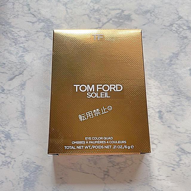 TOM FORD(トムフォード)の新品♡ TOM FORDトムフォード ソレイユ アイカラークォード 03 コスメ/美容のベースメイク/化粧品(アイシャドウ)の商品写真